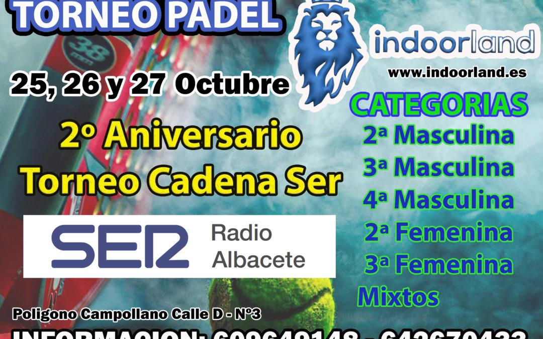 II Aniversario Torneo Pádel Cadena SER