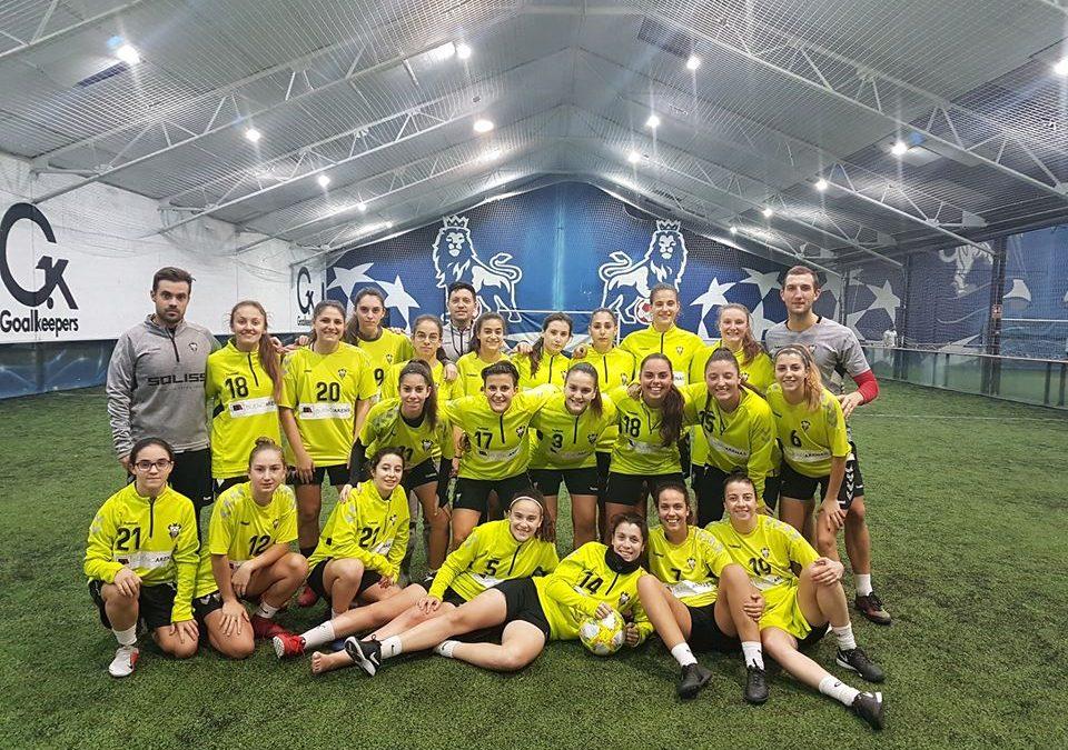 Albacete B Femenino en Indoorland